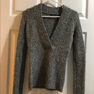Boucle grey sweater
